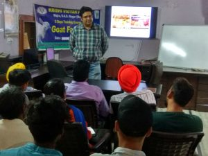 """Specialized Goat farming"""" was conducted by KVK SAS Nagar"""
